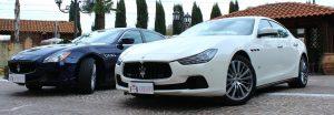 Maserati Bianca e Maserati Blu foto