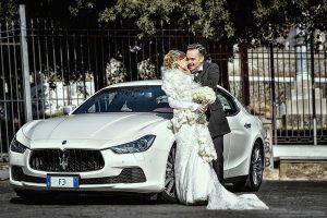 noleggio maserati ghibli per matrimonio