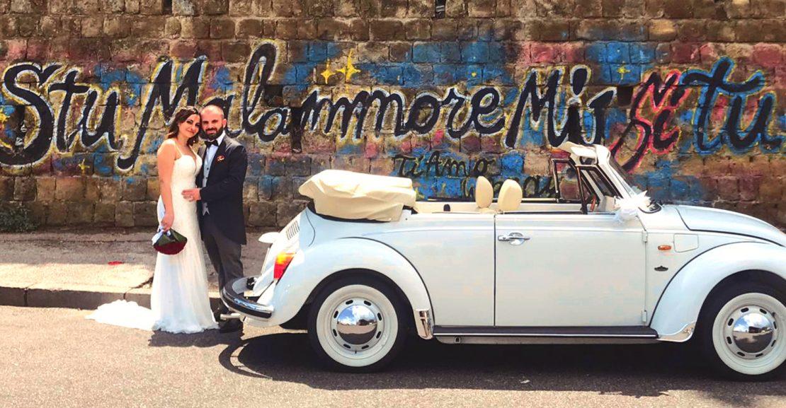 auto per matrimoni maggiolino