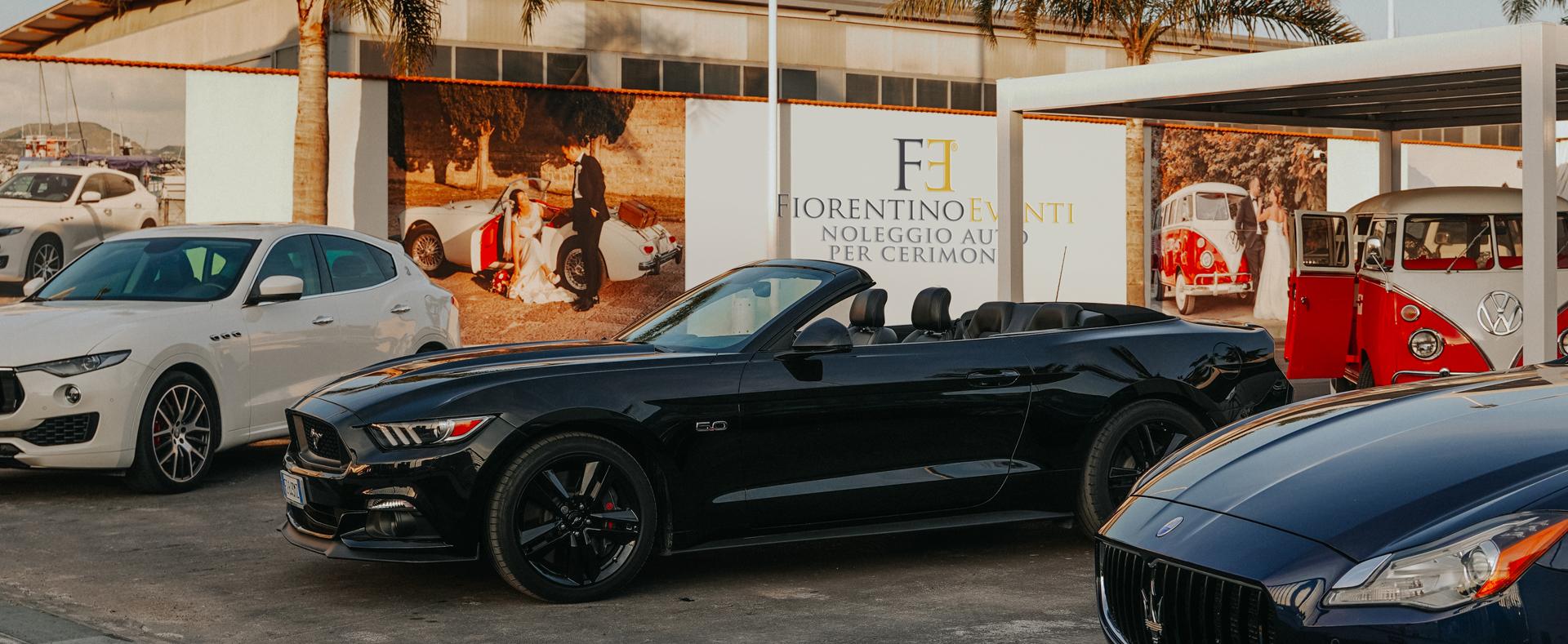 noleggio auto matrimonio Mustang