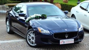 noleggio auto matrimonio Maserati Quattroporte