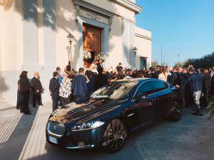 noleggio jaguar matrimonio