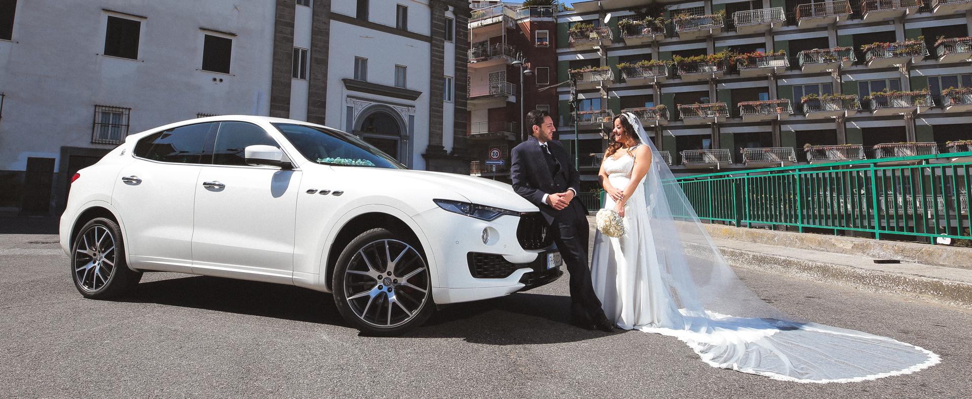 noleggio Maserati per matrimonio