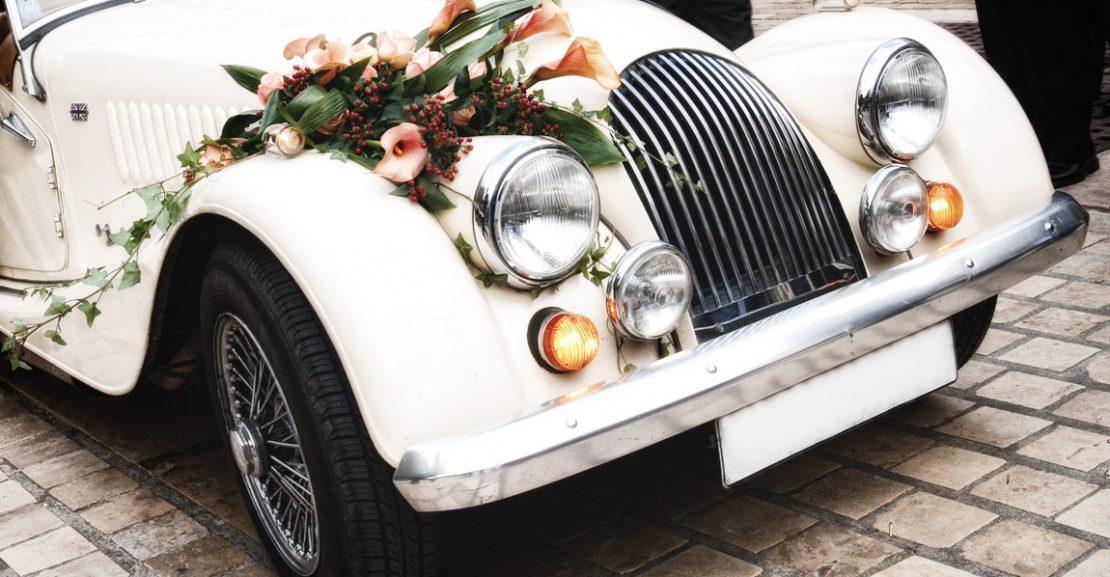 noleggiare auto per matrimoni