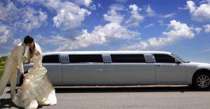 limousine matrimonio
