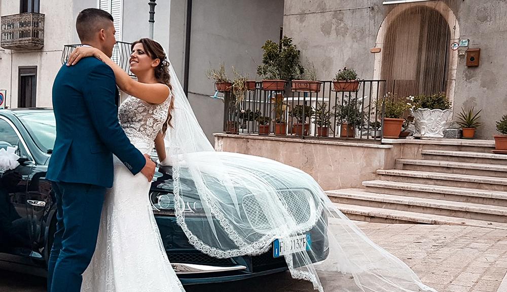 macchina per matrimoni