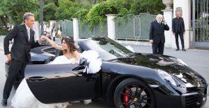 Noleggio auto di lusso per il matrimonio