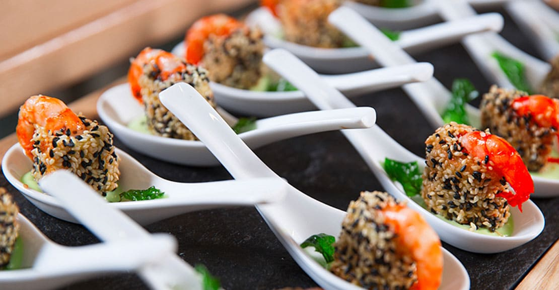 finger food per un matrimonio